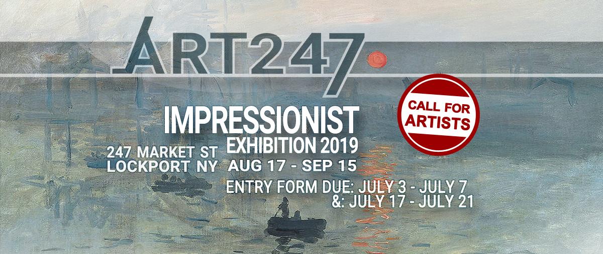IMPRESSIONIST ART   Exhibition 2019