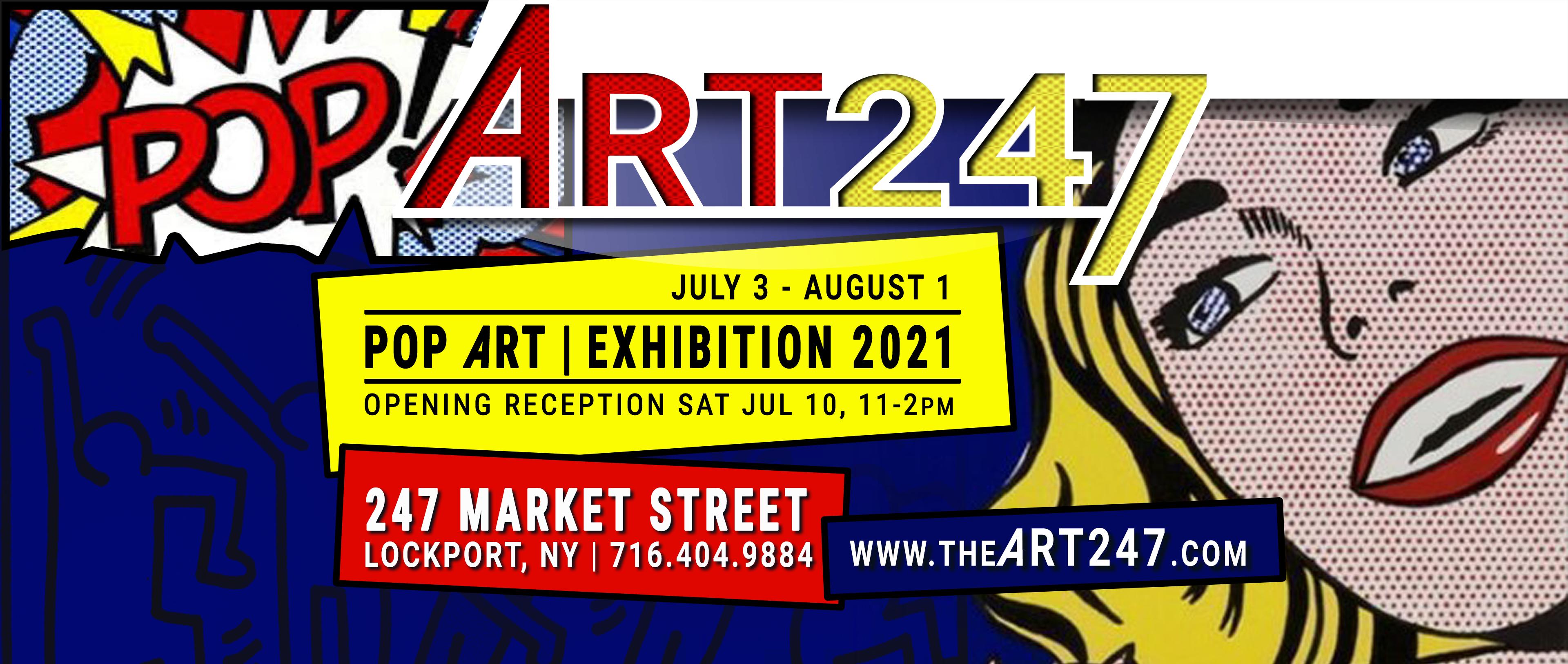 POP ART | Exhibit 2021